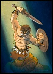 The Barbarian by voya