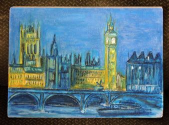 My beloved London [Gift from Mintdr] by AloiInTheSky