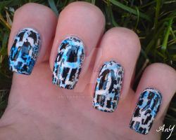 Water Marble Plus Crackle by AnyRainbow