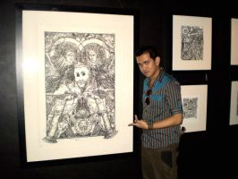 Me at kulaydiwa with my work by gromyko