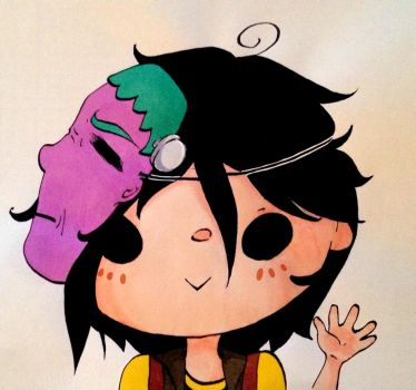 Fun Ghoul by Caelumish