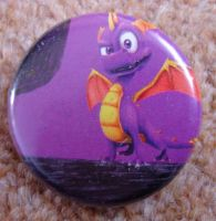 Custom Spyro Badge by IceyDragoness