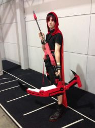 Ruby Rose Genderbend by DarknessClaw