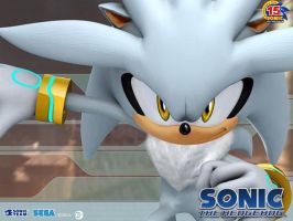 Silver The Hedgehog - OFFICIAL PICTURE - RARE by Silver-Inflator
