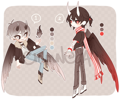 ADOPTS - revamped umbras!! 12-13 [CLOSED!] by cmmn