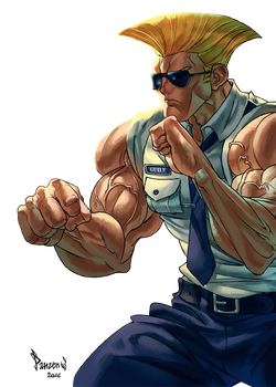 Guile SF V by PnzrK