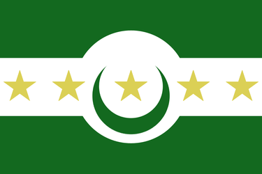 Islamic India Flag [COMMISSION] by RvBOMally