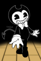 Bendy and the ink machine  by BLOOMTWIS