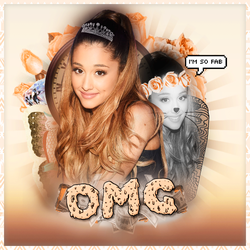 Blend // OMG - Ariana Grande \\ by ItsOnlyNora