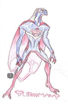 Redux - Superman by sketchmasterskillz