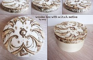 WITCH wooden box by YummingDoe4