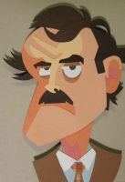 Basil Fawlty by WonderDookie