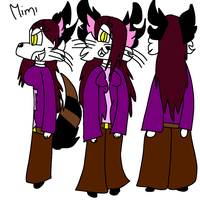 Mimi's bad side ref by GameyGemi
