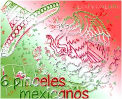 Pinceles mexicanos by LexiVonEerie