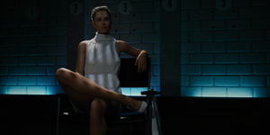 Basic Instinct: Interrogation Scene by Zincau