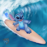 Riding the Waves by TheBMeister