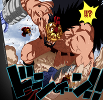 One Piece_Lucy VS Hajrudin by AnimeFanNo1