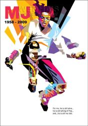 TRIBUTE to JACKO in WPAP by wedhahai