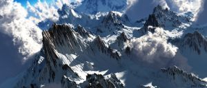 The Rocky Cloudy peak by ShannShah