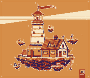 Pixel Dailies 03-07 Beacon X4 by TRUEvector