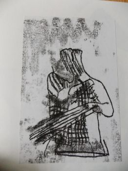 monoprint's when they slide out of place.. by allergic-to-arsenic