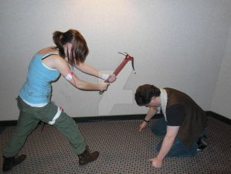 Lara Corft and Greed. by FandomFoodie