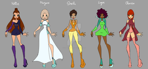 [Winx] Gen Fae MW Designs by CosmicLibrarian