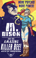 CAMMY: The Amazing Killer Bee by thousanium