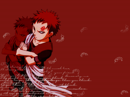 Naruto - Feather Gaara x.o by Riomi