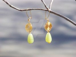 Demeter Earrings by zephyrofgod