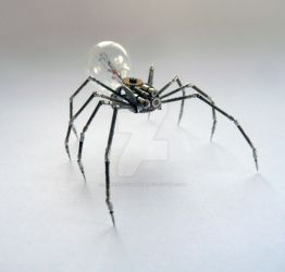 Mechanical Spider No 8 by AMechanicalMind