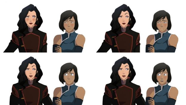 Korrasami - Naughty Ms Sato by MattHunX