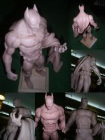BATMAN Sculpey by elnemesis