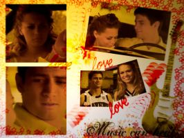 Nathan and Haley by sugarsweetheart