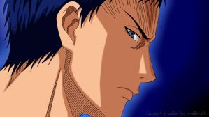 Aomine Daiki - color by melphith