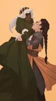 Put Me Down - Ladies of the Knight by FionaCreates
