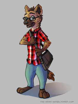 Vlad the Hyena (Commission) by Caliosidhe