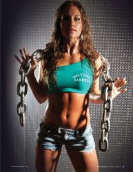 Fitness Model - Published in POWER magazine by BrianMPhotography