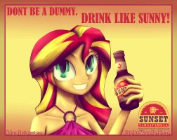 Sunset Sarsaparilla Advertisement [Pre-War] by ApplesToThe