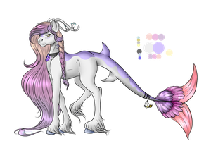 Reference Sheet Commission: Akariina by Crazyaniknowit