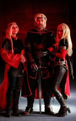 The three Targaryens by winged--icarus