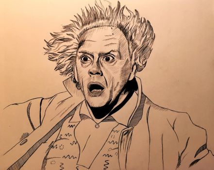 Great Scott! Doc Brown by cfischer83