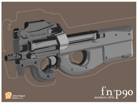 FN P90 by omhippo