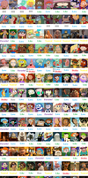 Nicktoons Protagonists Scorecard by MrAnimatedToon