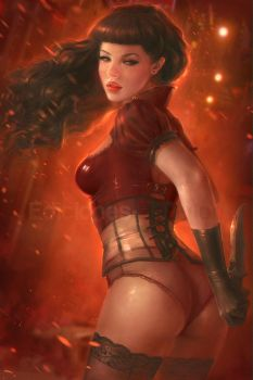 Pinup Killer by MartaNael