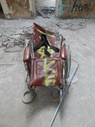 Wheelchair by sonickingscrewdriver