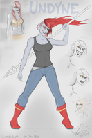 Undyne by Ember-Witch
