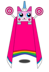 Unikitty Cuteness Cape! (AQW Version :3) by teamlpsandacnl