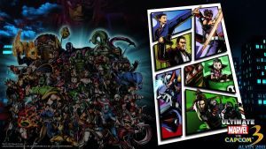 UMvC3 PS3 Wallpaper 4 by TheALVINtaker