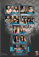 WWE Hell in a Cell 2013 by Jahar145